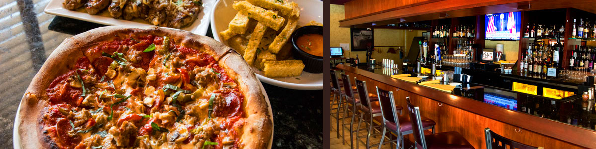 Food at Ciao! - Wood-fired Pizza and Tuscan inspired Pasta of Ithaca NY ...casual family style Italian restaurant